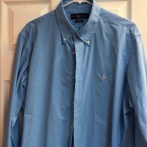 Men's long sleeved Ralph Lauren button up shirt